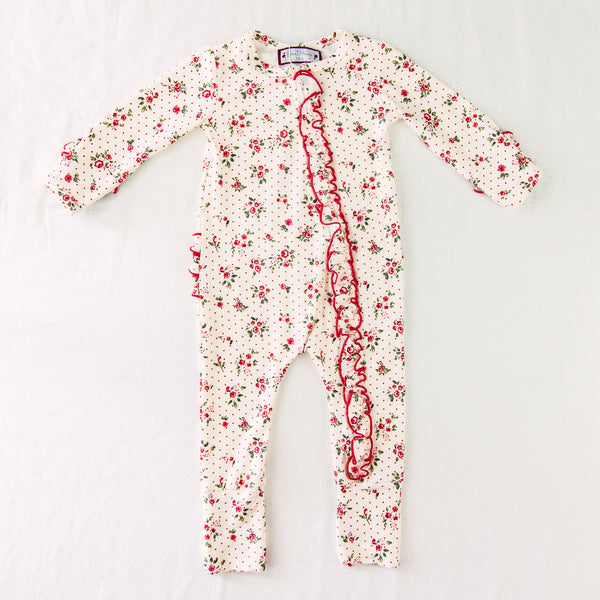 Dreamer Layette - Ruffled Rose Dotty