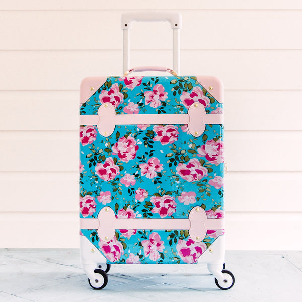 Lennon Traveling Luggage - Floral Days