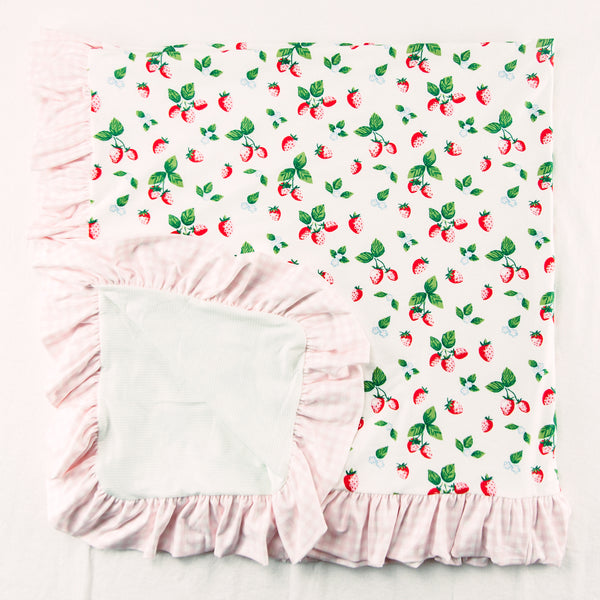 Dreamer Knit Blanket - Strawberry
