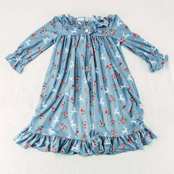 Sweet Ruffled Robe - Prancer