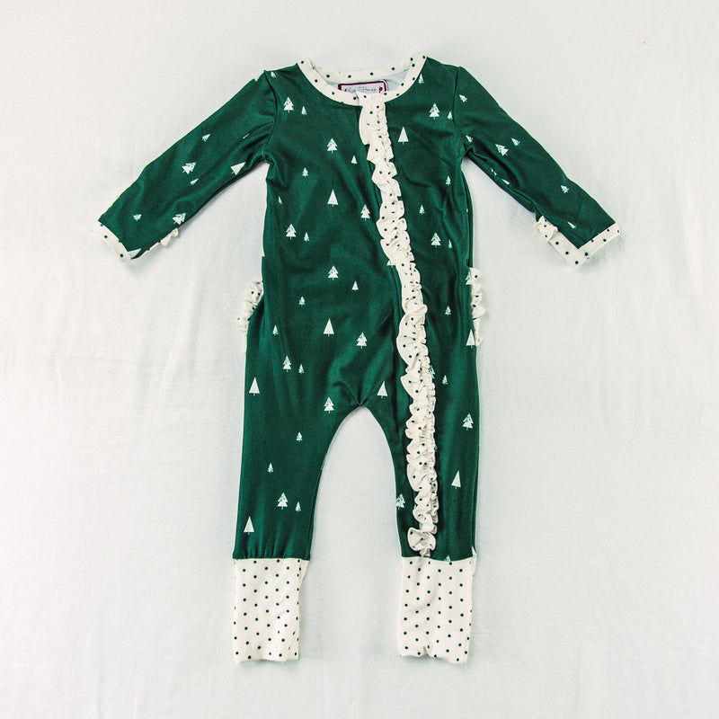 Dreamer Layette - Ruffled Forest