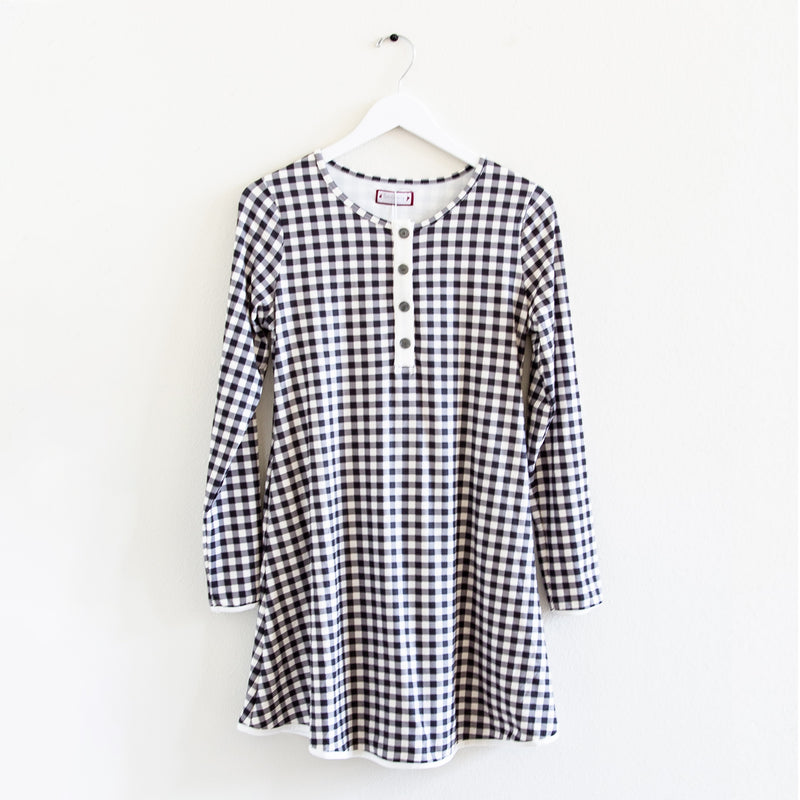 Women's Gown - Classic Check