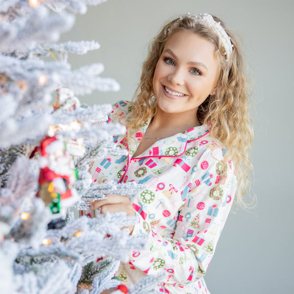 Womens Cozy PJs - Holiday Cheer