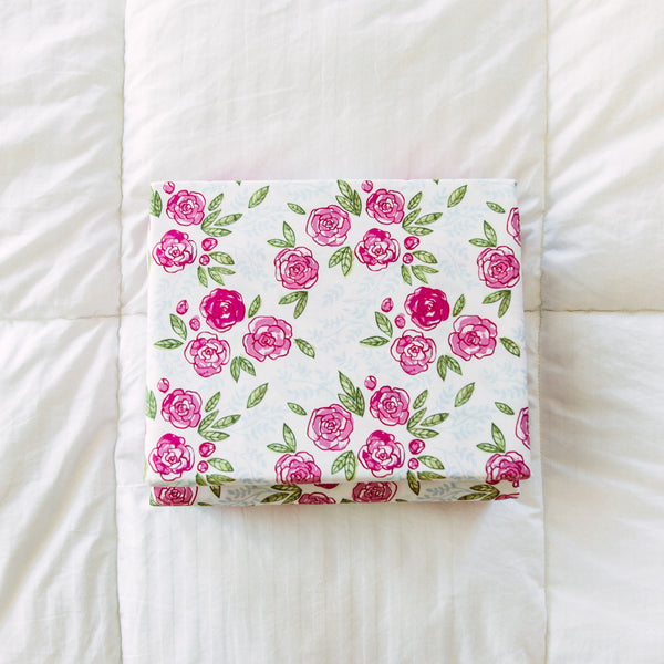 Sheet Set - Easy Peasy Pinks