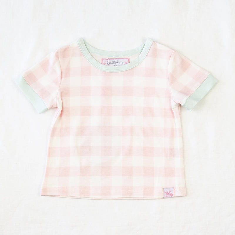 Sweet Tee - Bubblegum Pink Gingham
