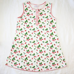 Women's Gown - Sweet Strawberry