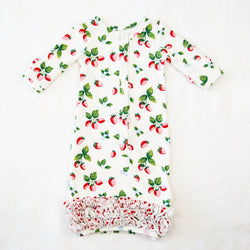 Dreamer Infant Gown - Sweet Strawberry