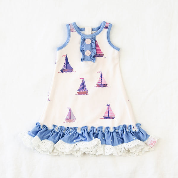 Doll Gown - Let's Go Sailing