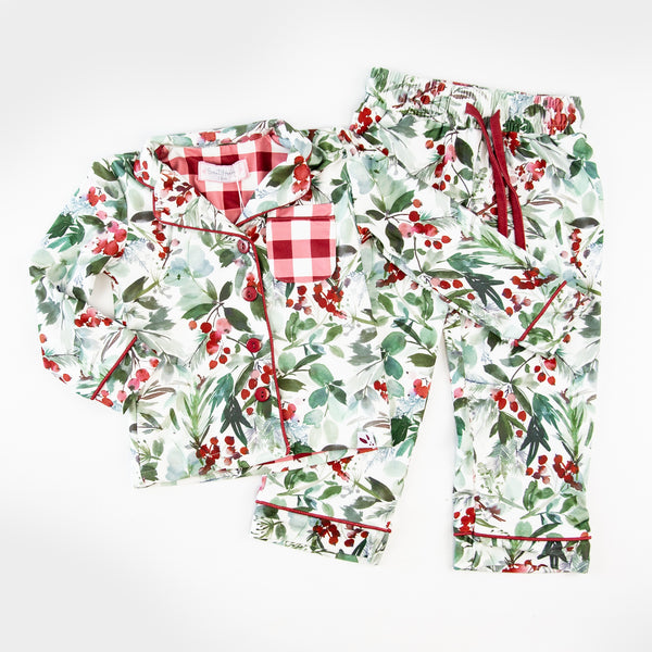 Kid's Cozy PJ - Forest Floor - Final Sale