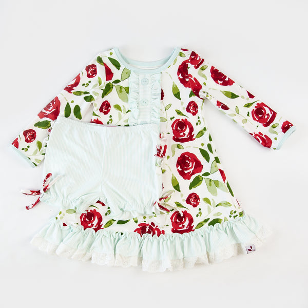 Dreamer Gown - Red Rose