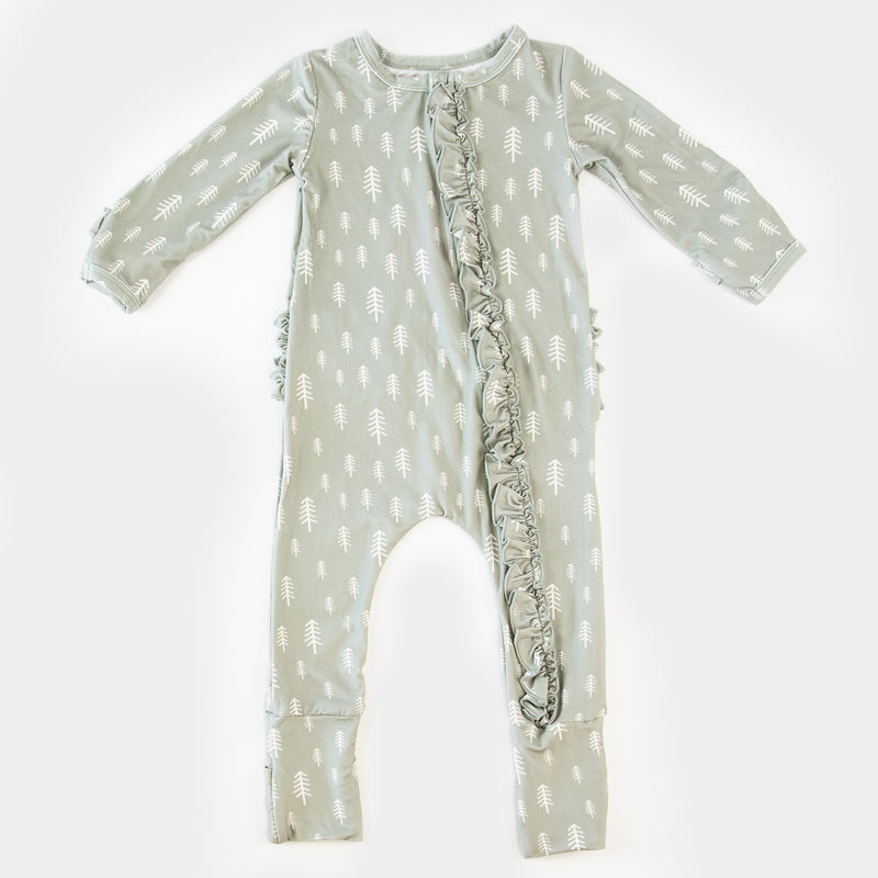 Dreamer Layette - Sage Trees