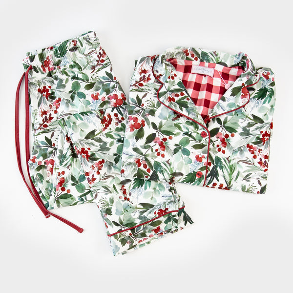 Women's Cozy PJ - Forest Floor
