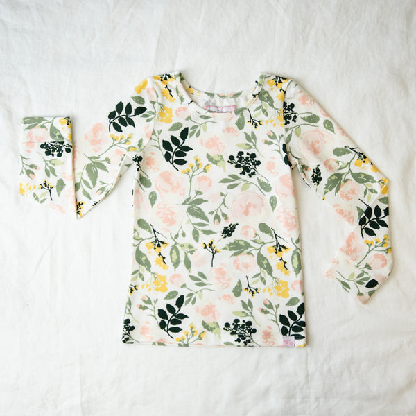 Lanie Layering Top - Fresh Natural Blooms