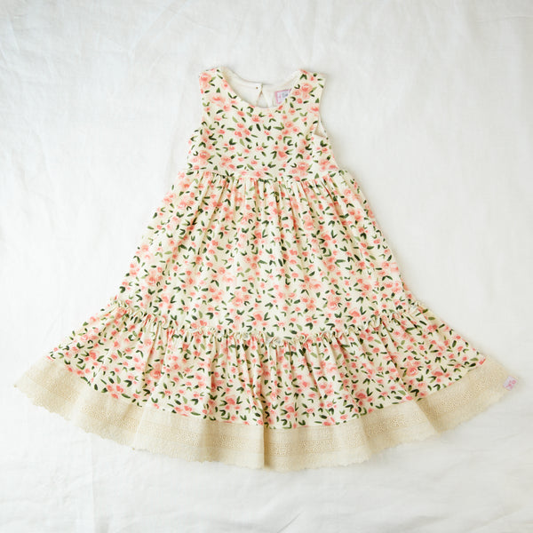 Sweet Dee Maxi - Garden Song Cream