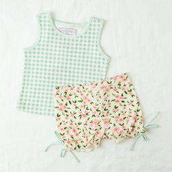 Playsuit - Ice Cream Gingham