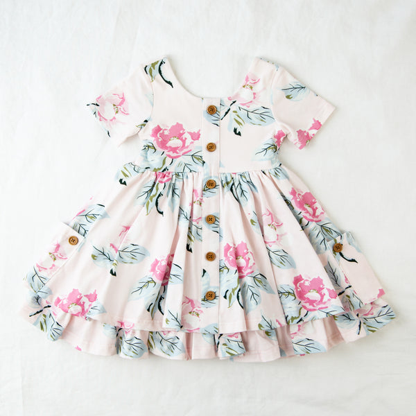 Prim Dress - Vivid Magnolia
