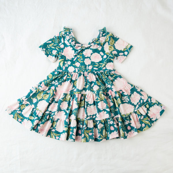 Flair Dress - Swifting Floral Teal