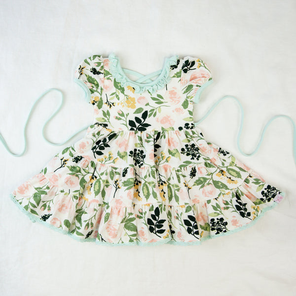 Flair Dress - Fresh Natural Blooms