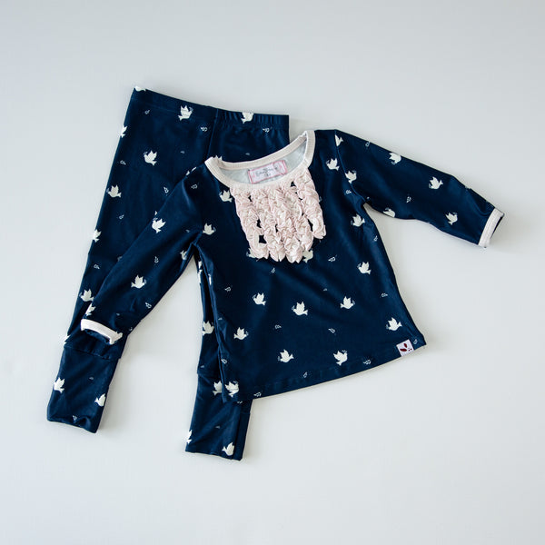 Dreamer Toddler 2-Piece - Peace Dove - Final Sale