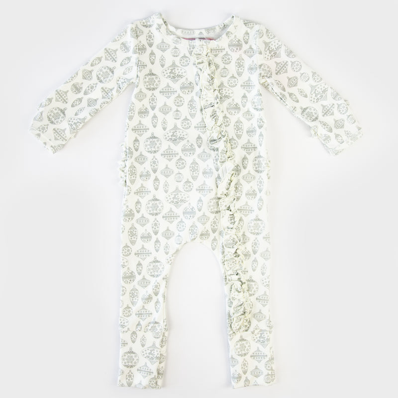 Dreamer Layette - Vintage Ornaments Sage - Final Sale