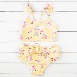 Retro Tankini - Morning Garden