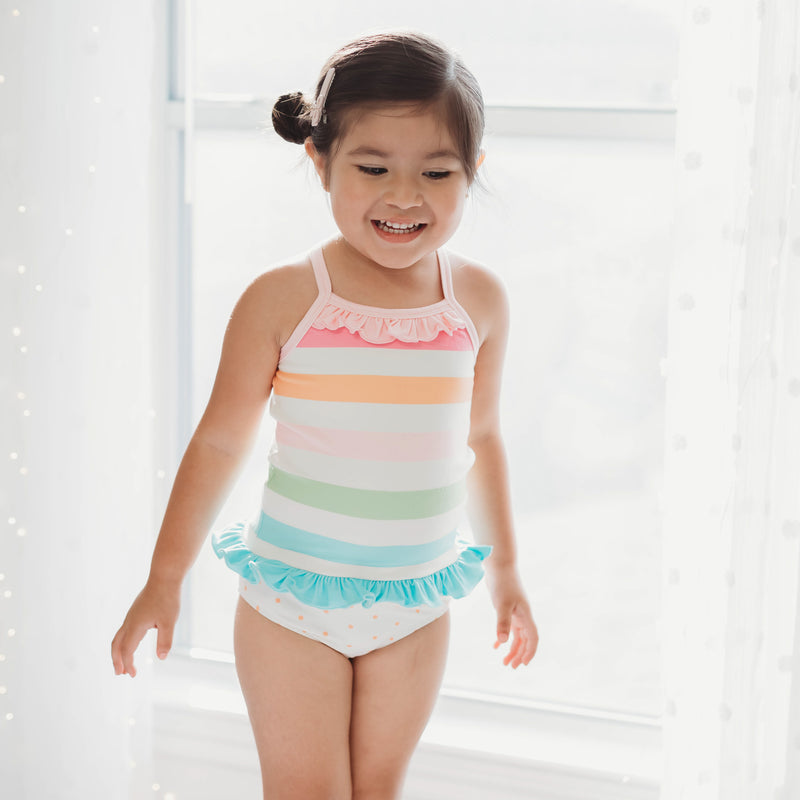 Cami Lounger Set - Cheery Stripe