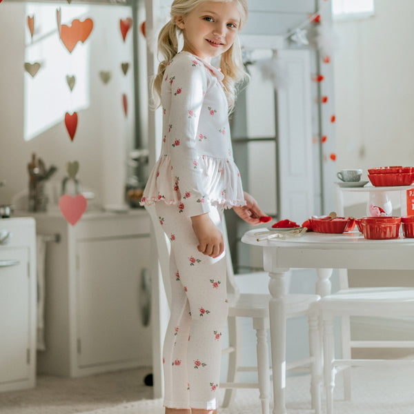 Peplum Set - Lovebug