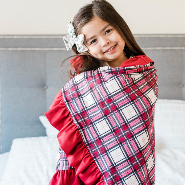 Dreamer Blanket - Red Plaid