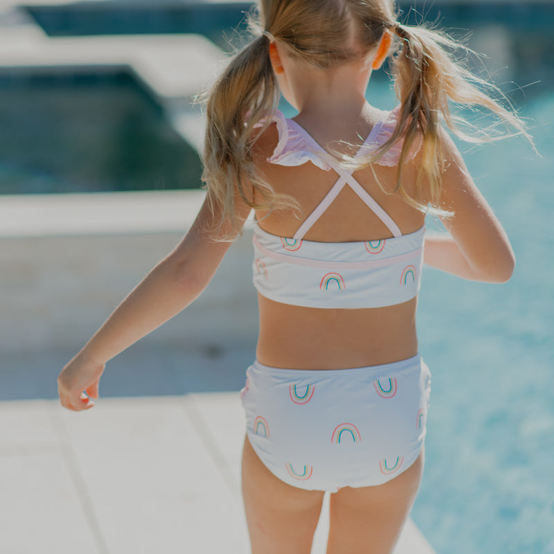 Retro Tankini - Over the Rainbow