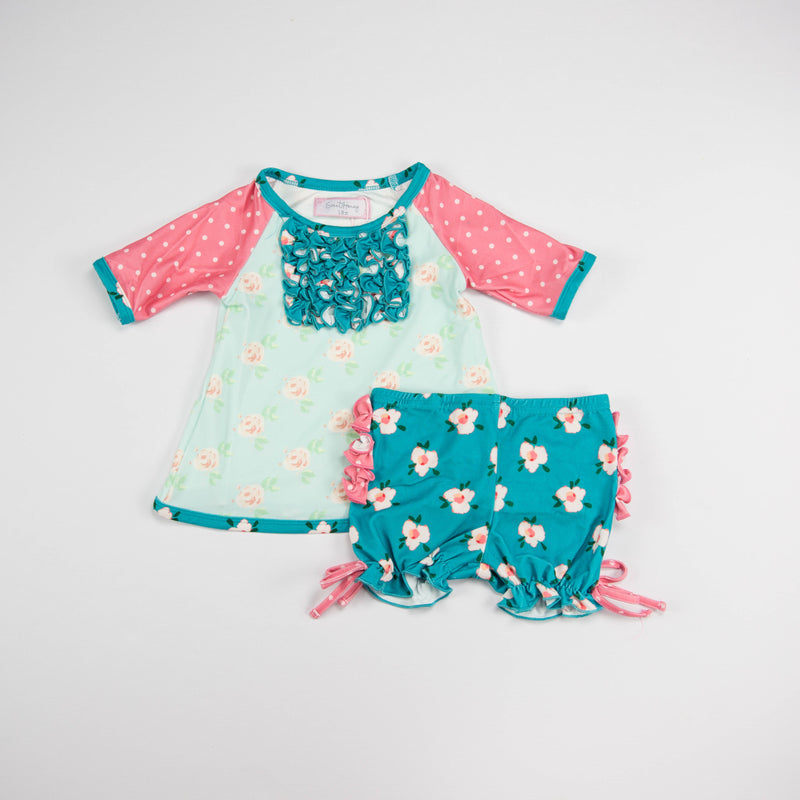 SweetHoney - Dreamer Shortie Set - Girl Talk