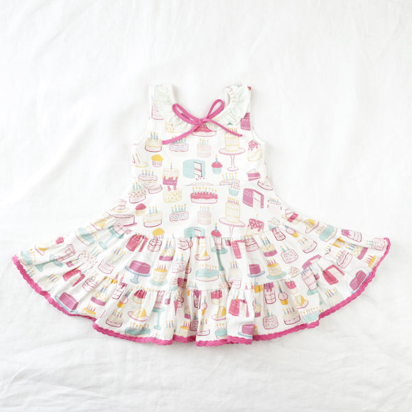 Flair Dress - Happy Birthday