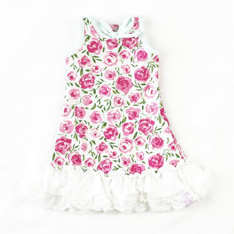 Doll Gown - Covered in Roses