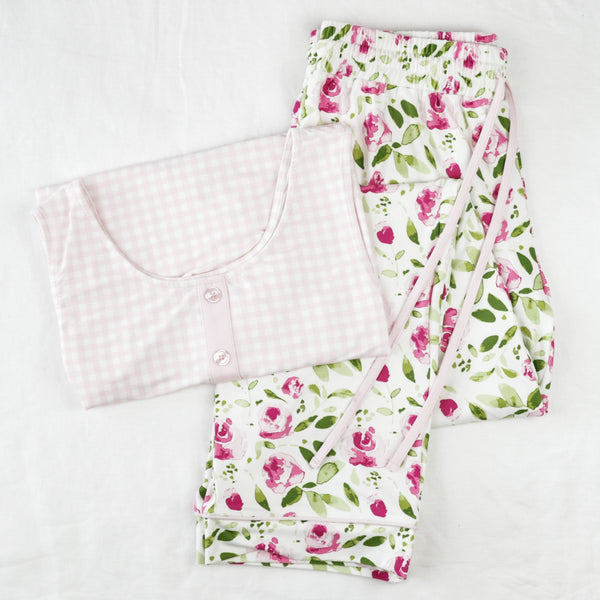 Women's Cozy PJ - Starbright Pink
