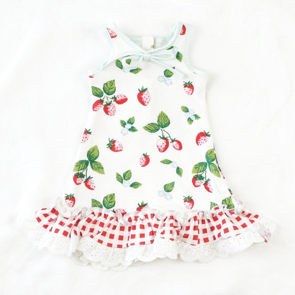Doll Gown - Sweet Strawberry