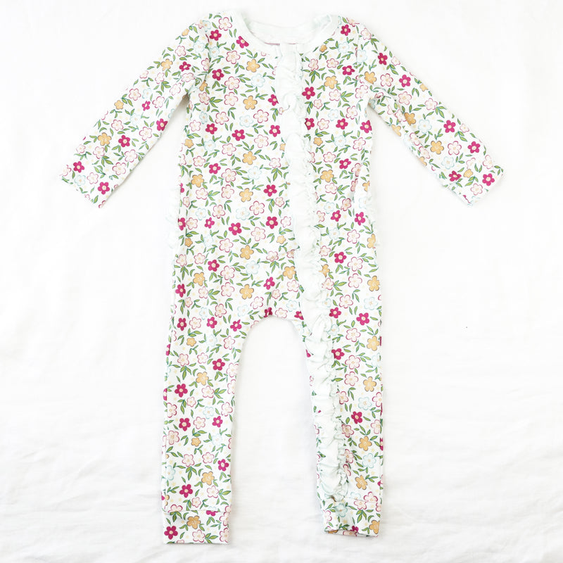Dreamer Ruffled PJ - Bubbly Floral