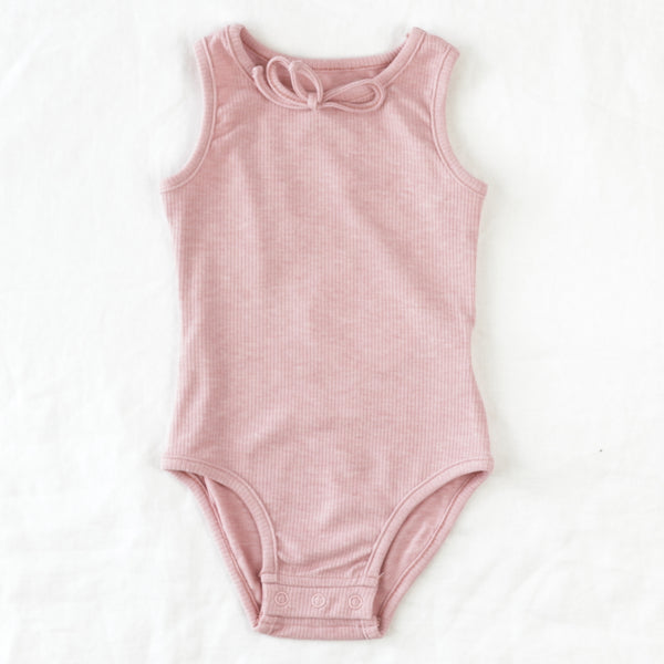 Sleeveless Bodysuit - Rose