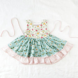 Belle Knit Bubble - Bitty Flowers