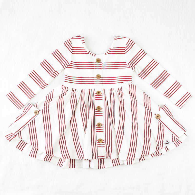 Prim Dress - Candy Cane