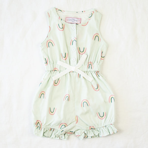 Recess Romper - Rainbow Bright