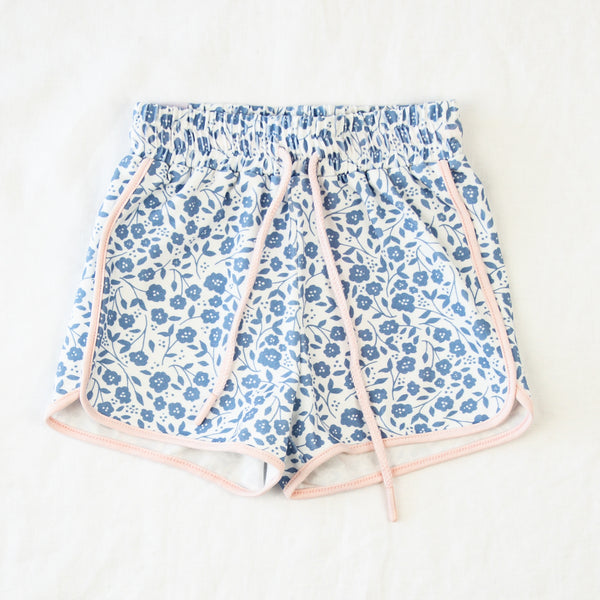 Athletic Shorts - Lovely Petals