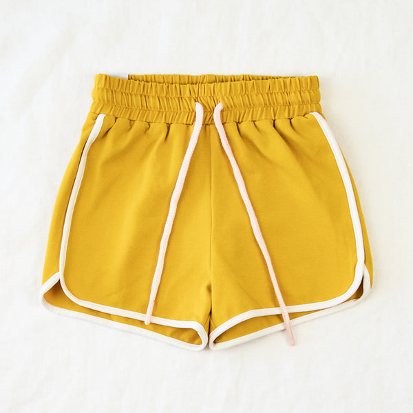 Athletic Shorts - Mustard
