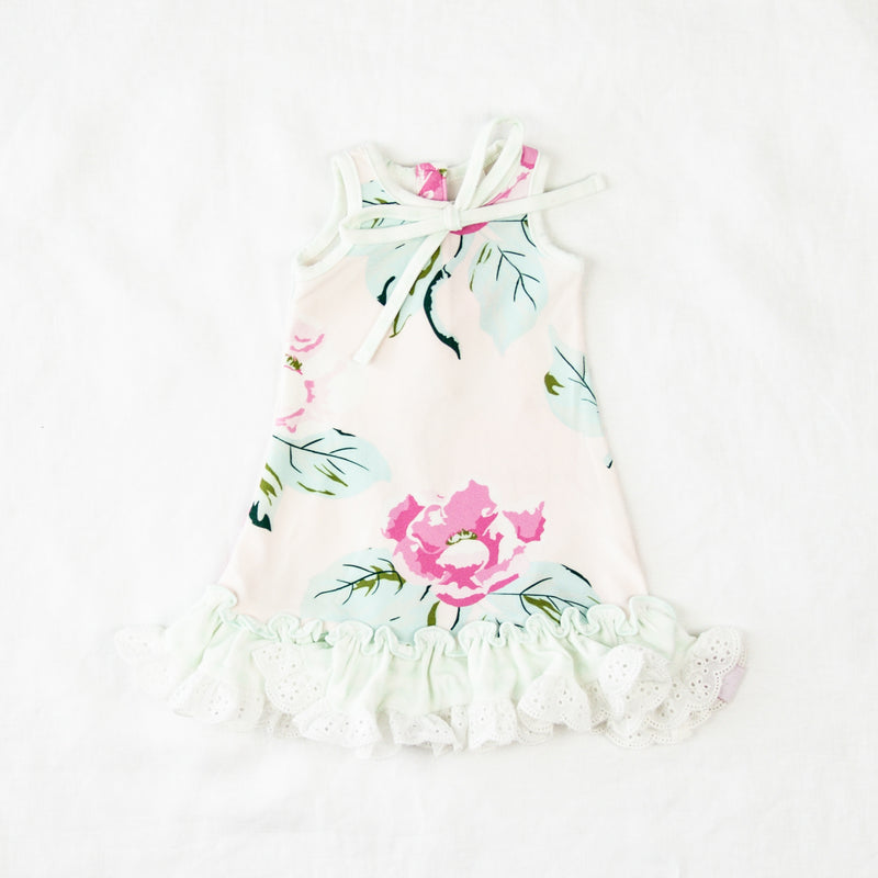 Doll Gown - Vivid Magnolia