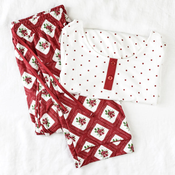 Women's Cozy PJ - Elf