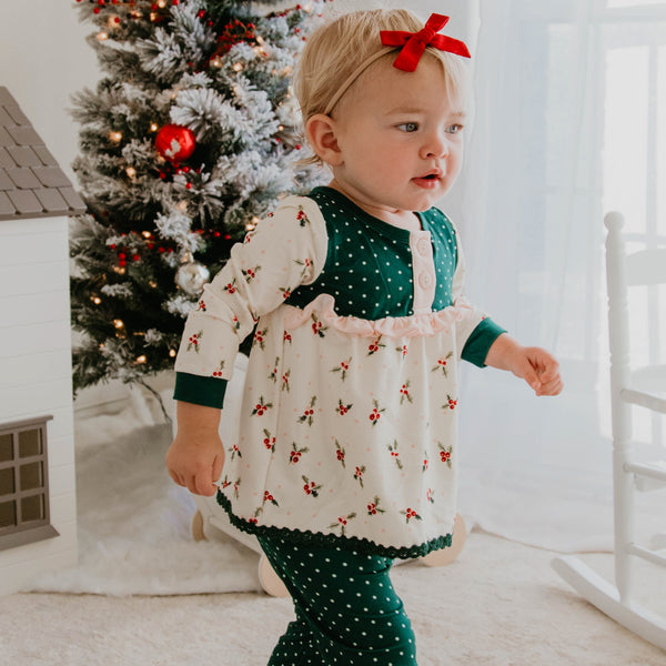 Dreamer 2 Piece - Girl's Holly Days