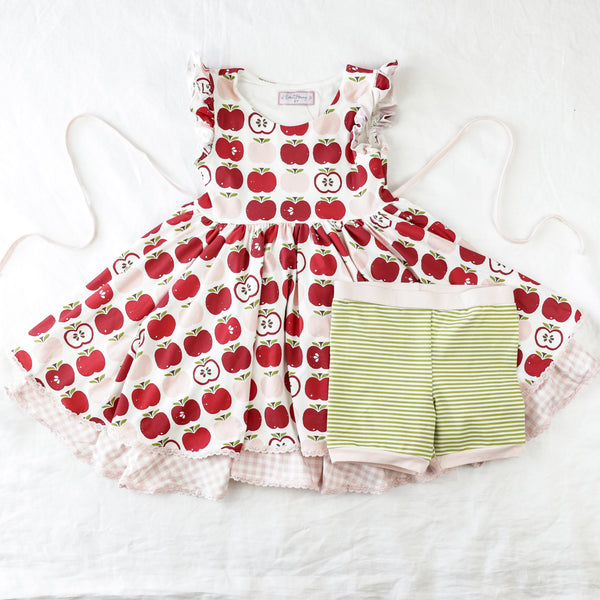 Belle Knit Set - All the Apples