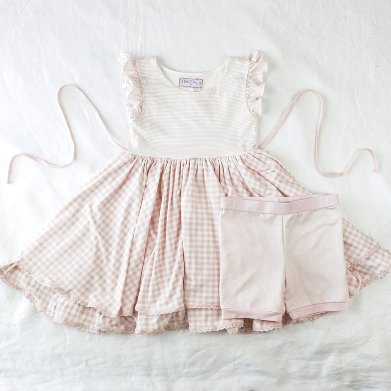 Belle Knit Set - Sweet Pink