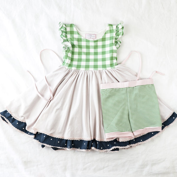 Belle Knit Set - Preppy Girl