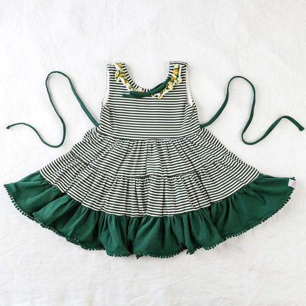 Flair Dress - Green