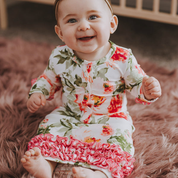 Dreamer Infant Gown - Bright Floral