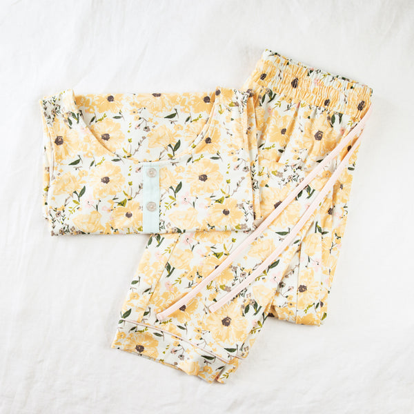 Women's Cozy PJ - Golden Poppies